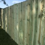 Dog eared style with 4' Gate