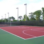 MCSB basketball courts