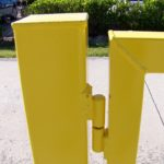 Yellow A Frame hinge